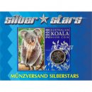 1 Unze Koala 2008 in Blister