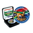 1 Unze Silber Krugerrand 2018 Flag Edition color in Box +...