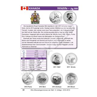 Katalog Elite Silberanlagemünzen Der Welt 2018 2019 699 Eur