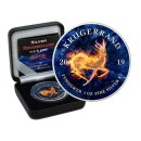 1 Unze Silber Krugerrand 2019 ICE & FIRE Edition in Box +...