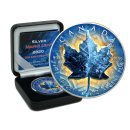 1 OZ Silber Maple Leaf 2020  Color Lighting ICE Edition...