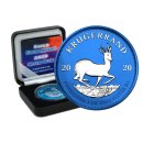 1 OZ Silber Krugerrand 2020 Space Blue Edition